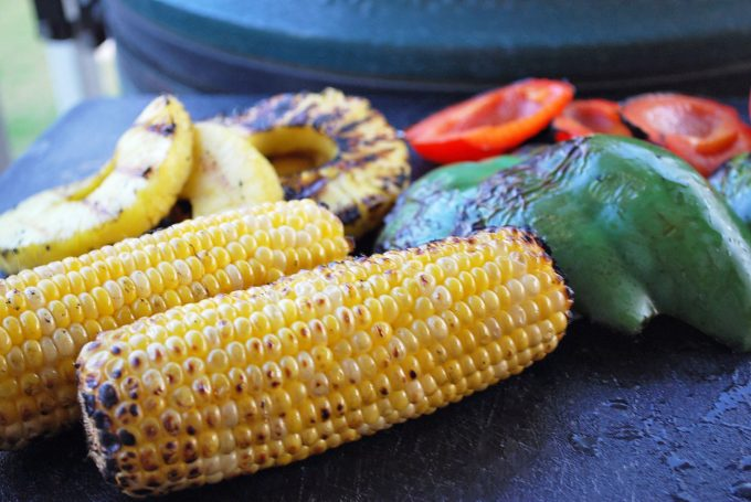 ingredients for Caribbean Grilled Jerk Chicken Bowls