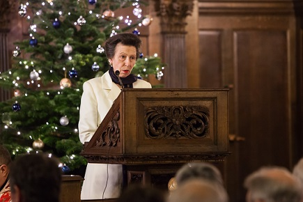 THE PRINCESS ROYAL BEGINS FESTIVE SEASON WITH THE MISSION TO SEAFARERS