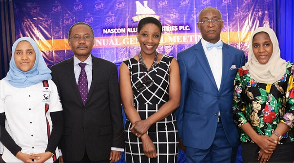 Shareholders applaud NASCON for70k dividend