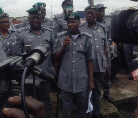 FOU A Ikeja Impounded 27 Assorted Vehicles Smuggled Through Unapproved Routes