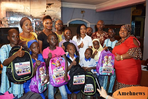 RhanaMerzy Foundation empowers 20 children as new term begins