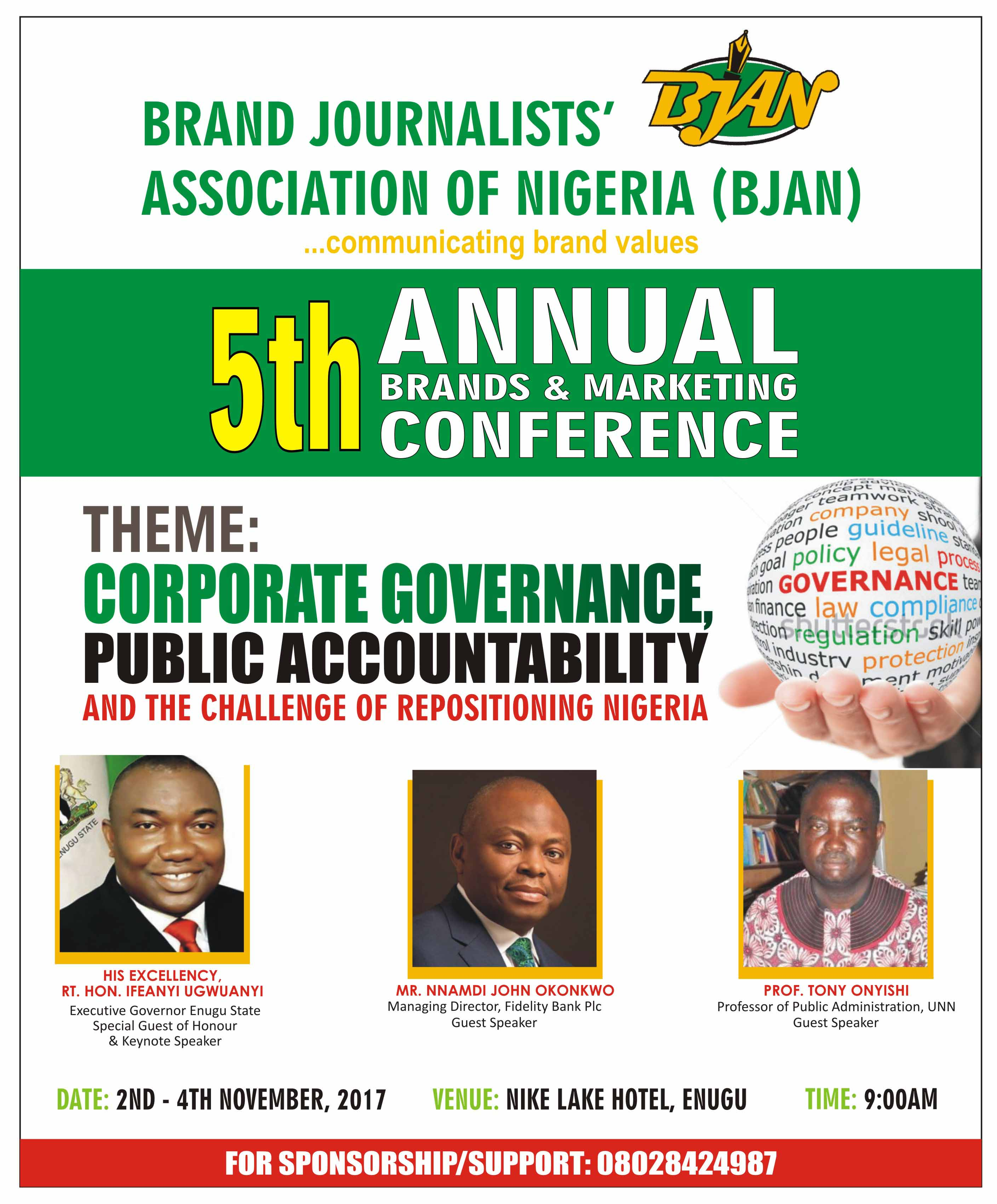 BJAN CONFERENCE ONLINE ADVERT