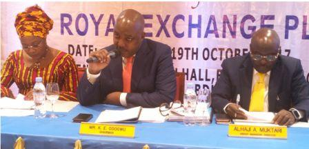 Royal Exchange Gets the National Insurance Commission approval to underwrite agric-business