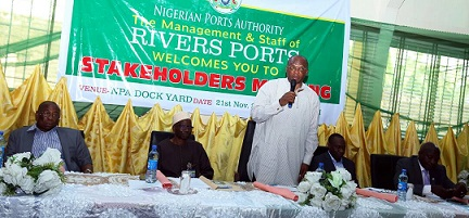 NPA MANAGEMENT MEETS WITH STAKEHOLDERS ON THE EASTERN PORTS