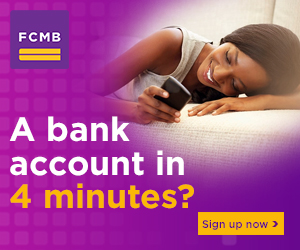 The FCMB Supporting Advert