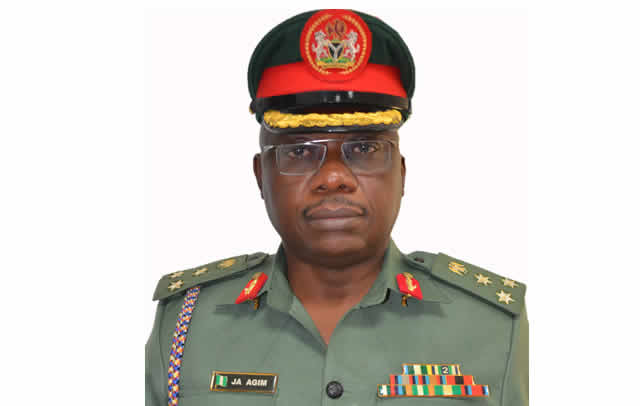 Image result for The acting director defence information Brigadier General John Agim,