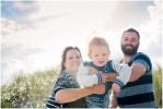Familiefoto's op Ameland