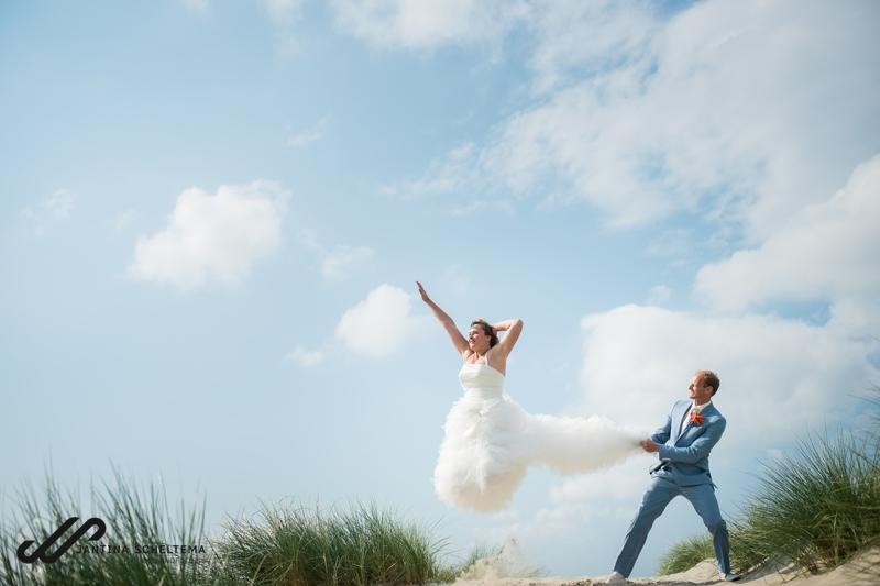 ester robin trouwen op Ameland