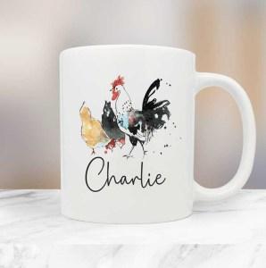 Chickens Farm Animals Mug