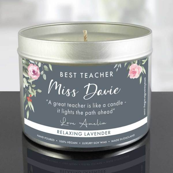 Candle-Teacher-Gift