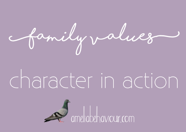 Family Values: Character in Action