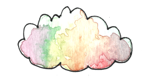 rainbow kindness camp cloud