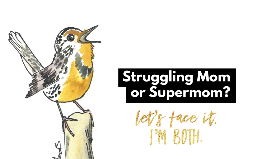 Supermom or Struggling Mom? (How about both?)