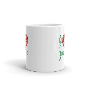 Amelia I Love You Mug Front-view 11oz