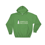Amelia Island Iconic Lighthouse Hoodie Irish-Green
