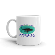 Amelia Right Whale Nursery Mug Handle-on-Left 11oz
