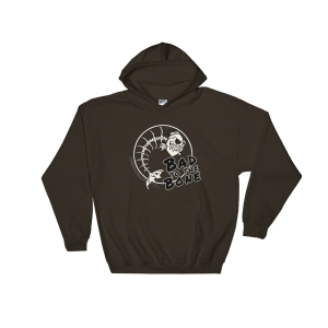 Bad to the Bone Hoodie Dark-Chocolate