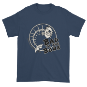 Bad to the Bone Ultra Cotton T-Shirt Blue-Dusk