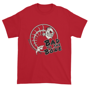 Bad to the Bone Ultra Cotton T-Shirt Cherry-Red