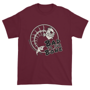 Bad to the Bone Ultra Cotton T-Shirt Maroon