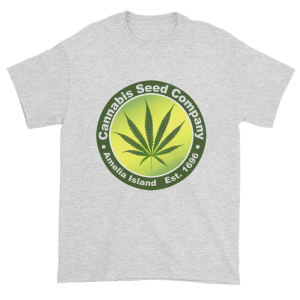 Cannabis Seed Company Cotton T-Shirt Ash