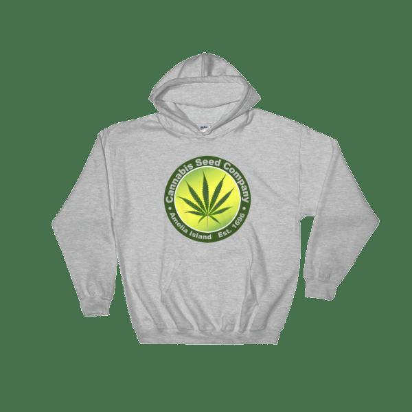 Cannabis Seed Company Hoodie Sport-Grey