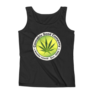 Cannabis Seed Company Missy Tank-Top Black