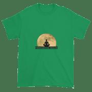 Full Moon Lotus Ultra Cotton T-Shirt Irish-Green