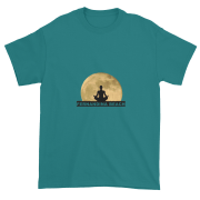 Full Moon Lotus Ultra Cotton T-Shirt Jade-Dome