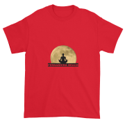 Full Moon Lotus Ultra Cotton T-Shirt Red