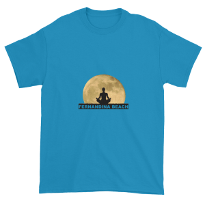 Full Moon Lotus Ultra Cotton T-Shirt Sapphire