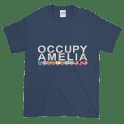 Occupy Amelia Ultra Cotton T-Shirt Blue-Dusk