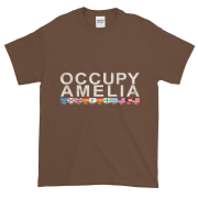 Occupy Amelia Ultra Cotton T-Shirt Chestnut