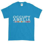 Occupy Amelia Ultra Cotton T-Shirt Sapphire