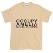 Occupy Amelia Ultra Cotton T-Shirt Tan