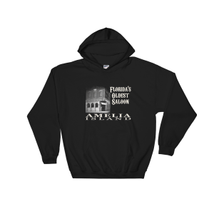 Oldest Saloon Hoodie Black