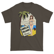 Oops My Bathing Suit Ultra Cotton T-Shirt Olive