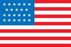 United States 23-Star Flag 1820