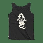Welome to Amelia Mermaid Missy Fit Tank-Top Black