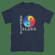 Yin & Yang Ultra Cotton T-Shirt Navy