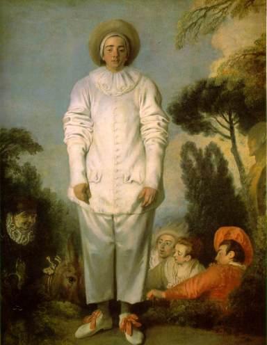 Jean Antoine Watteau, Pierrot