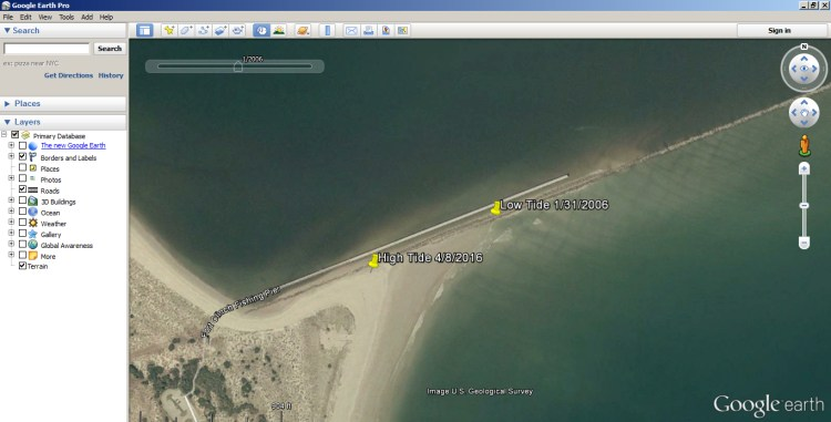 How to Use Google Earth to find Inshore Structure 6