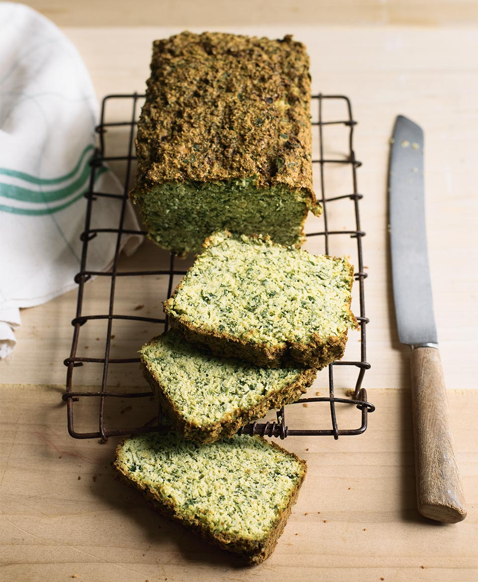 Herby Green Bread by Amelia Freer