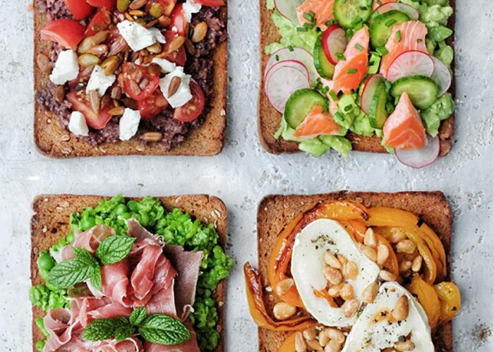 12 things on toast, Amelia Freer