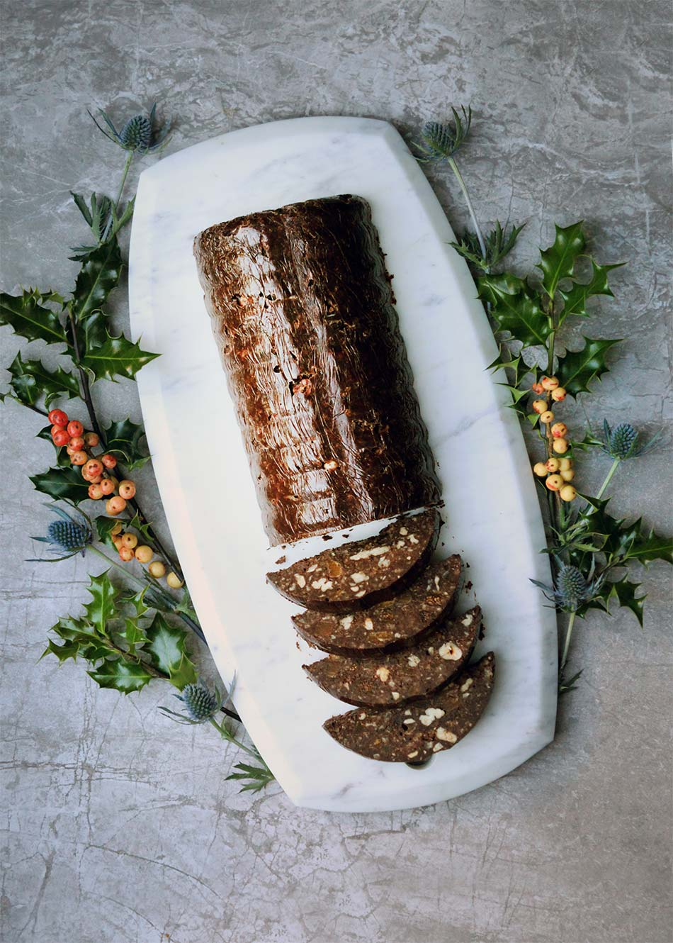 Chestnut and Chocolate Log, Amelia Freer