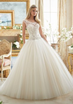 MORI LEE 2884 - SIZE 14 - WAS £1350 - NOW £620