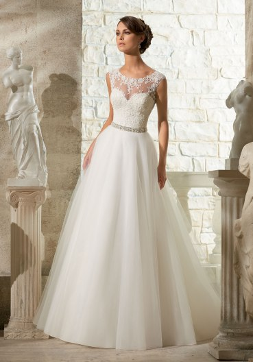 MORI LEE 5315 / SIZE 16 / WAS £975 / NOW £325