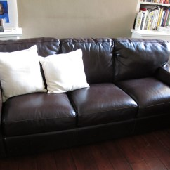 Lodge Sofa Dfs Fabrizio Leather 6 Piece Chaise Sectional Chocolate Monteverdi Young Tufted Dark