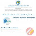 HostGator Web Design Landing Page