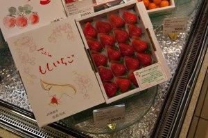 fraise au Japon